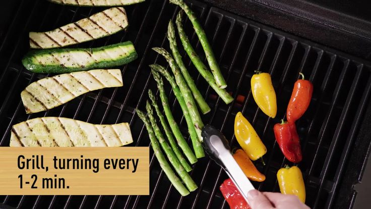 Wegmans Menu in Motion - How to Grill Veggies | Grilled ...