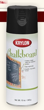 Chalkboard Spray Paint    *Could use on glasses, or anything really:-)
