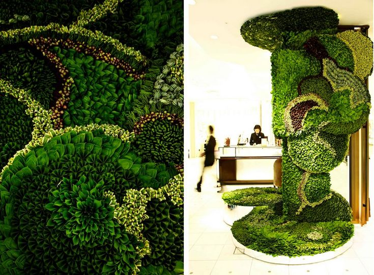 Isetan grand opening collapsible leaves (6)