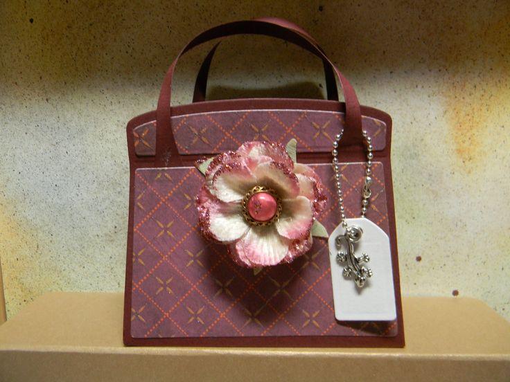 Tonic Kensington Handbag Die set- by Lizzy Coppus