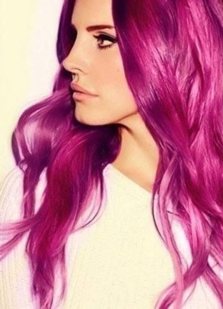 Haarfarbe Magenta - http://frisurengalerie.xyz/haarfarbe-magenta/