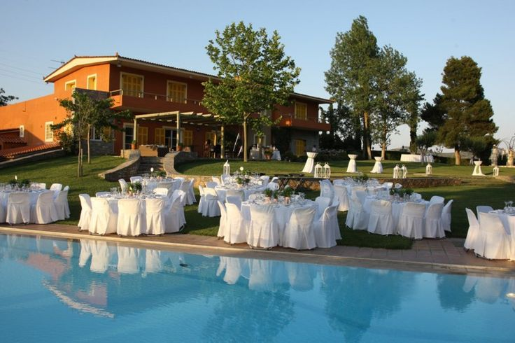 Our experienced staff can make your wedding reception unforgettable and unique... Once-in-a lifetime experience!! -at Kokotos Estate http://www.rbathenspark.com