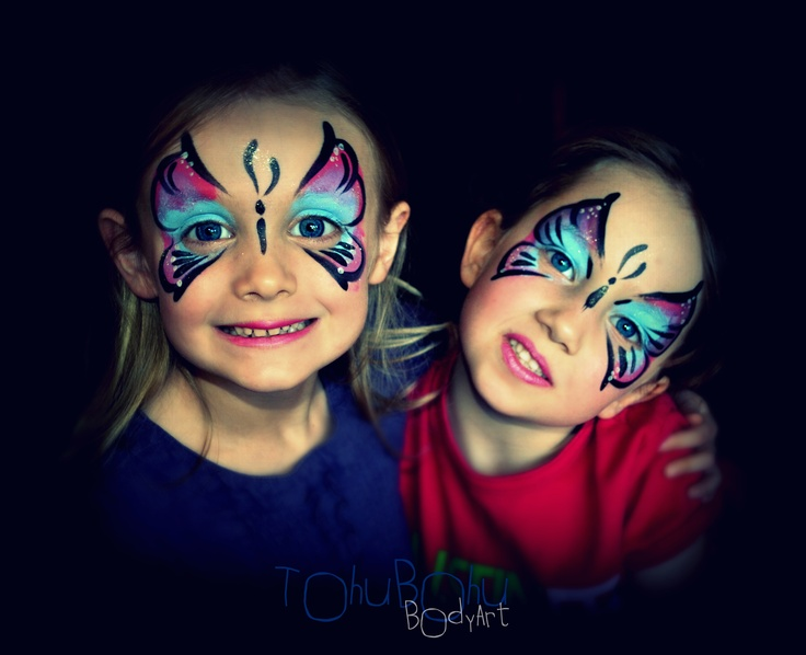 butterfly party journ e papillon maquillage enfants papillons girls design mes maquillages. Black Bedroom Furniture Sets. Home Design Ideas