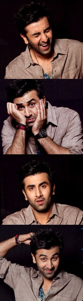 The many faces of Ranbir Kapoor.