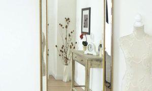 Beveled Mirror Wall Clock