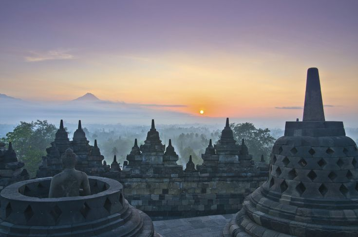 Indonesia is home to some stunning world-famous monuments. Like the Borobudur temple.