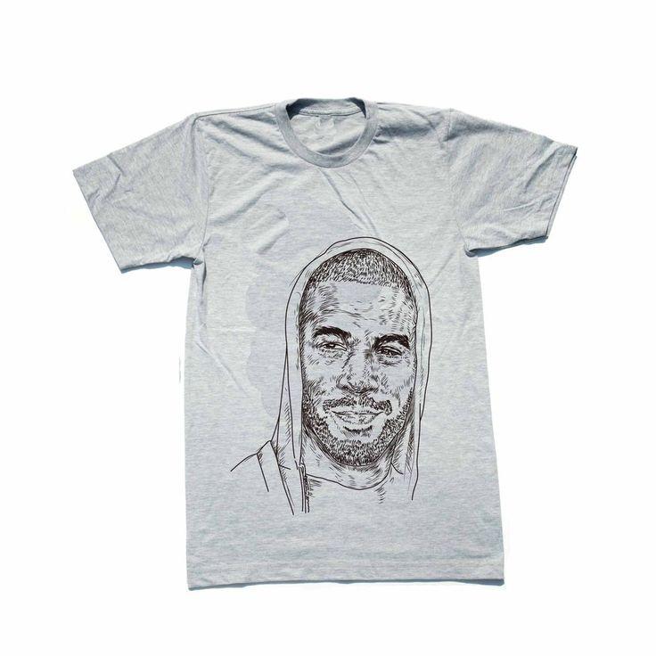 Kid Cudi Grey Tee (Unisex) // T-shirt // Babes & Gents // www.babesngents.com