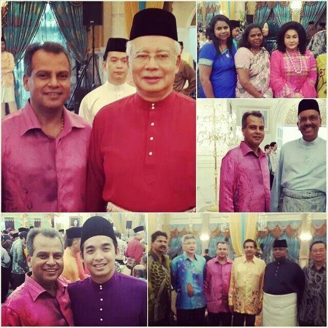 [Admin] 28 July,1014  RUMAH TERBUKA PERDANA MENTERI SECARA TERTUTUP BERSAMA MENTERI-MENTERI KABINET DAN PEMIMPIN-PEMIMPIN BARISAN NASIONAL  PUTRAJAYA - Suasana sambutan Aidilfitri tahun ini disambut secara tertutup, kesemua tetamu daripada Menteri Kabinet, dan pemimpin pemimpin daripada Barisan Nasional , hadiri dikediaman rasmi Perdana Menteri di Seri Perdana di sini bagi menghadiri untuk mengucap sambutan Aidilfitri yang dihoskan Datuk Seri Najib Tun Razak.  Semua pemimpin telah berada…