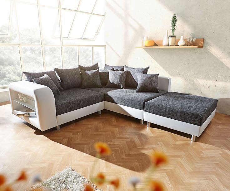 104 besten Sofaträume Bilder auf Pinterest Schlafsofa leder - wohnzimmer schwarz weis orange