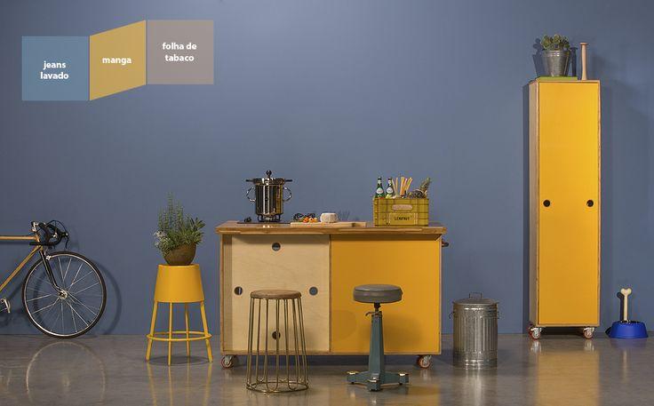 Tintas Suvinil - Decoração da sua cozinha - Sua Casa, Seu Orgulho. - Renove Você Mesmo, Simulador de Decoração, Feng Shui, SelfColor