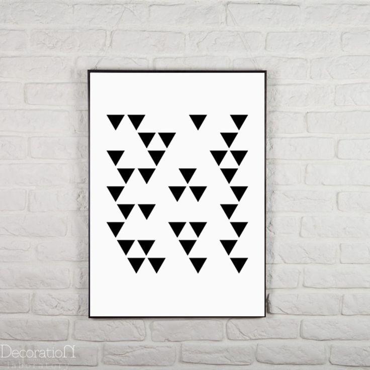 Dekoracje ścienne od Decoration Laboratory. Zobacz więcej na: https://www.homify.pl/katalogi-inspiracji/26678/6-sposobow-na-szybka-i-niedroga-metamorfoze-salonu