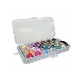 Bobbin Box Organizer 1 Pair $8.99: Crafts Ideas, Pairings 8 99, Art Crafts, Storage Boxes, Bobbin Boxes, Crafts Rooms, Bobbin Storage, Hobbies Organizations, Boxes Organizations