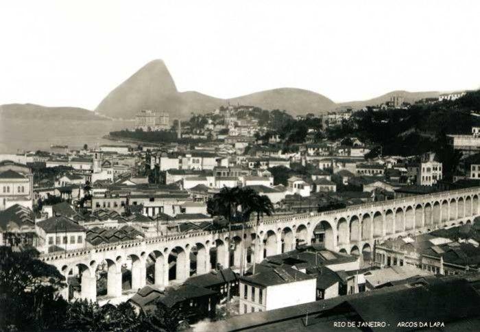 Foto Rio Antigo - Arcos da Lapa
