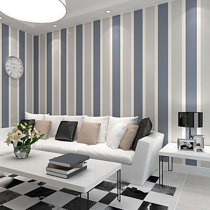 ... Non-woven vertical stripes 3D mural modern minimalist living room TV  backdrop wallpaper,papel de parede,3d wallpaper,wall paper 34.62$