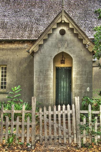 Cemetary Lodge - St. Stephen's Cemetary, Newtown (Sydney), Australia
