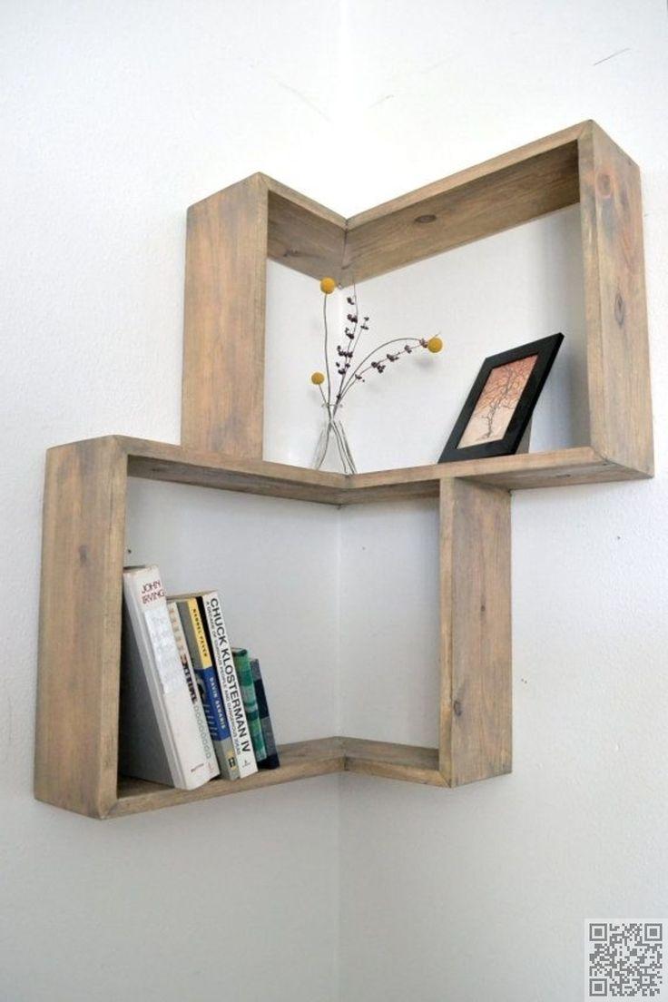 11. #Corner Box Shelf - #Shelfies: the Best DIY Shelves ... → DIY #Ideas