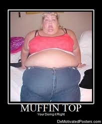 Muffin top, Camel and Toe on Pinterest
