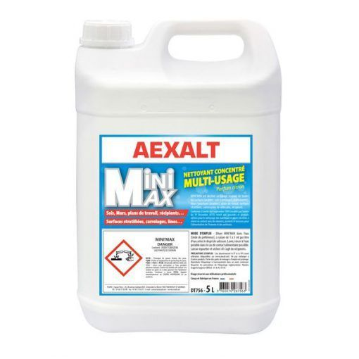 Detergent Concentre Multi Usages 5l Mini Max Aexalt Detergent