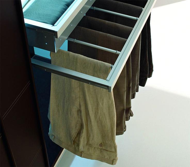 SMA Mobili Spa Evolution Wardrobe Internal Accessory Pull Out Trouser Rack