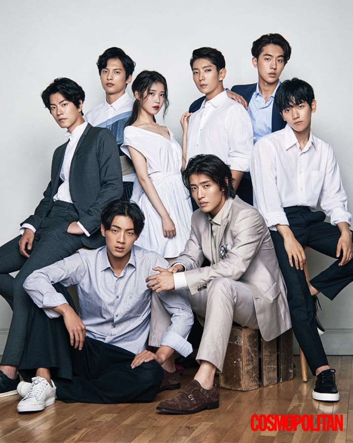 Moon Lovers cast - Cosmopolitan Magazine August Issue '16