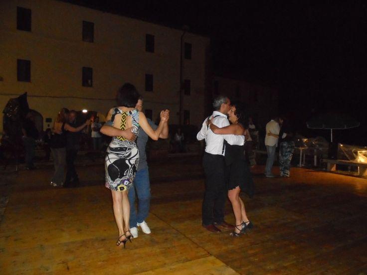 Serata tango a Farfa