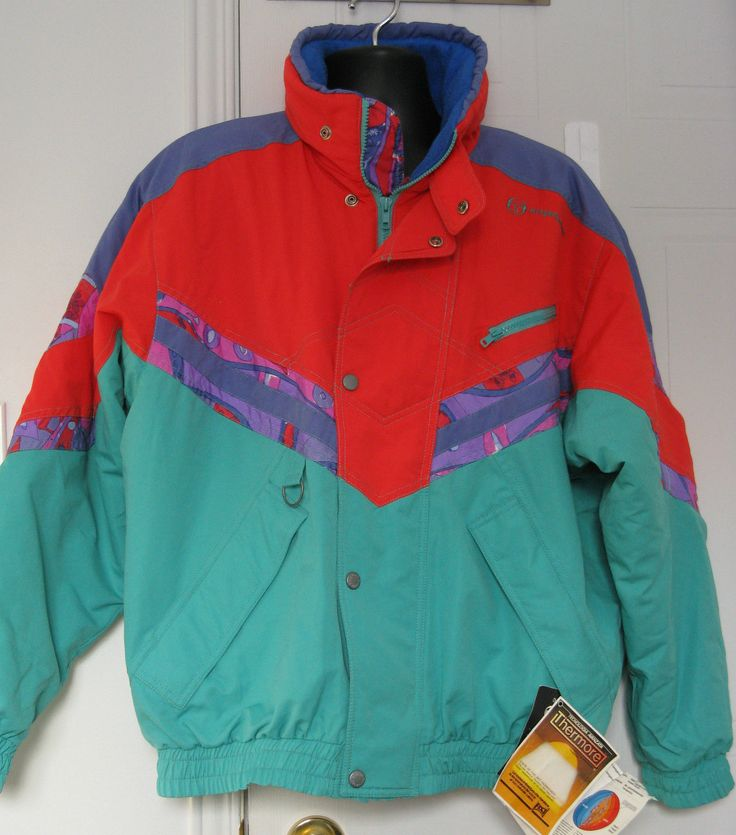 Vtg 80s Sergio Tacchini Ski Jacket Color Block Green Red Marc Girardelli Italy | Clothing, Shoes & Accessories, Vintage, Men's Vintage Clothing | eBay!