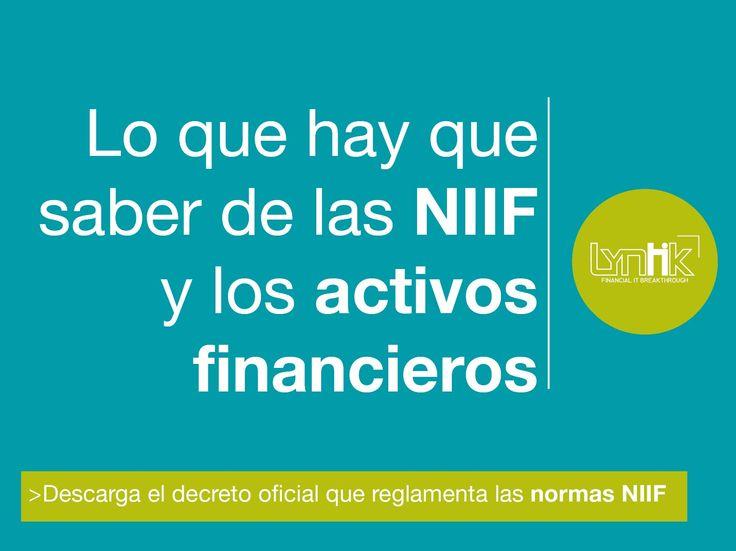 Las NIIF tienen un impacto transversal sobre la contabilidad de las empresas de cualquier sector. El impacto es aún más importante si la empresa maneja un portafolio de inversión o invierte sus excedentes de liquidez en títulos valores. Conoce aquí la relación entre las NIIF y los activos financieros.  #finanzas #inversión