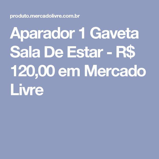 Aparador 1 Gaveta Sala De Estar - R$ 120,00 em Mercado Livre