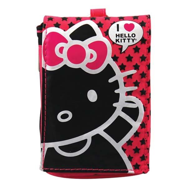 FUNDA CANVAS KITTY ROSA   Funda tipo bolsa para celular. #hello #kitty #hellokitty #funda #protector #celular #canvas #smartphone #cya #ginga