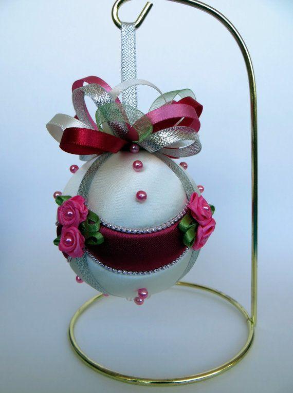 Christmas Ornament Tutorial Pattern Instructions DIY