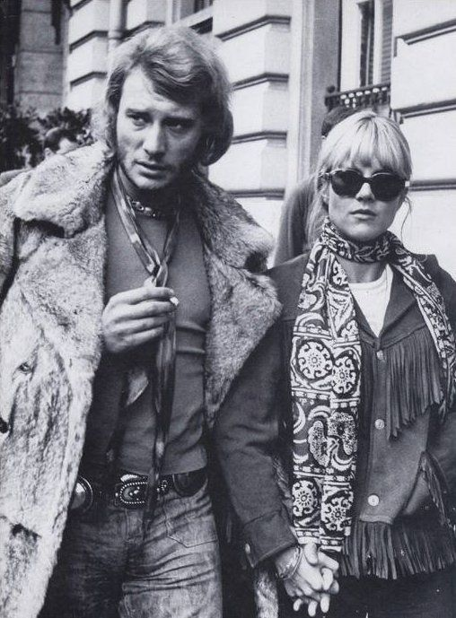 Johnny Hallyday And Slyvie Vartan