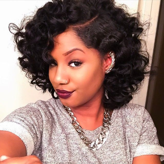 20 Bob Styles That Will Make You Head Out And Buy Some Scissors Right Now [Gallery] Read the article here - http://www.blackhairinformation.com/general-articles/playlists/20-bob-styles-that-will-make-you-head-out-and-buy-some-scissors-right-now-gallery/