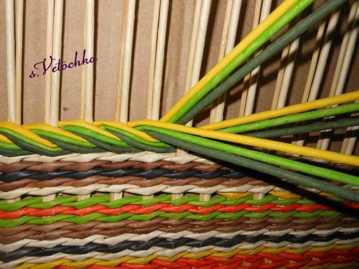 Тема: Мастерская Веточки (106/213) - Плетение из газет и другие рукоделия - Плетение из газет