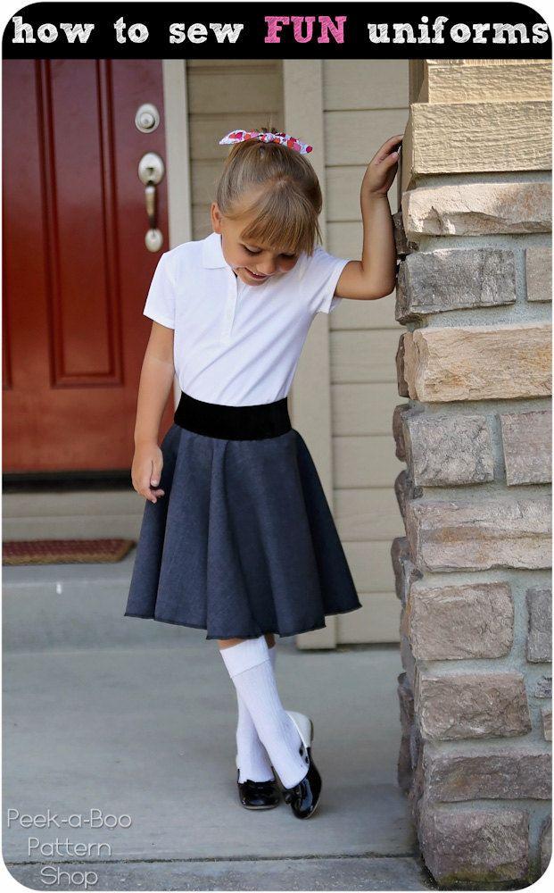 How to sew FUN School Uniforms