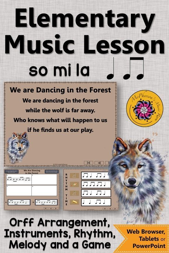 Orff Arrangement We Are Dancing In The Forest Orff Rhythm