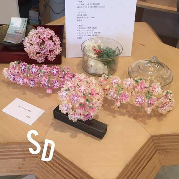 メディアツイート: 桜居せいこ*つまみ細工師(@sakuraiseiko)さん | Twitter