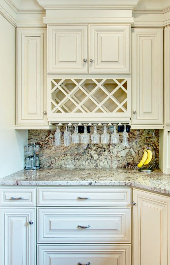 Home Cabinet Westbury A7 Style Creme Maple Glazed Kitchen Add On Wine Rack Kitchen Cabinet Wine Rack Kitchen Wine Rack Wooden Wine Rack