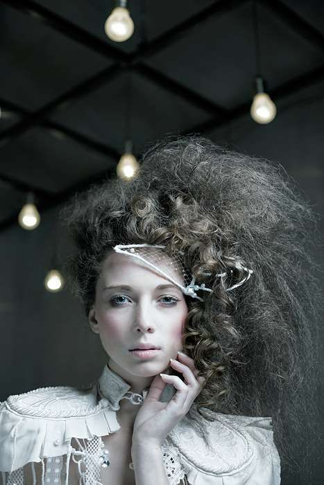 Victorian Inspired-- High Fashion Hair. #highhair #Hair #costs #hairstyles