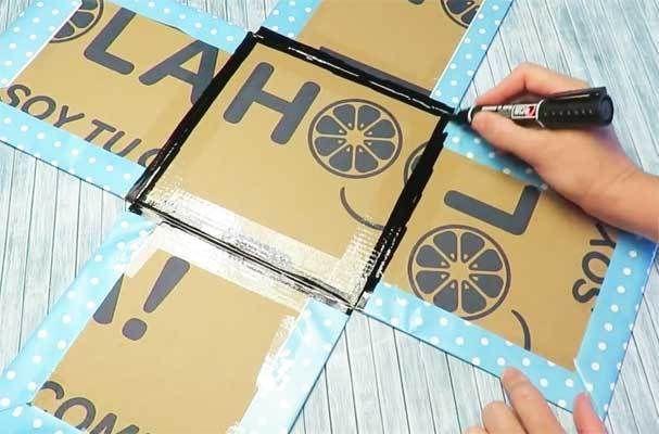 Manualidades Para Cumpleaños Faciles Cajas Decoradas Para Cumpleaños Caja Con Fotos Caja Para Mi Novio