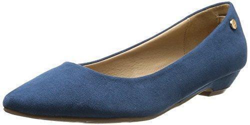 Oferta: 29.95€ Dto: -70%. Comprar Ofertas de XTI Zapato Sra. Antelina Jeans - Zapato para mujer, color jeans, talla 38 barato. ¡Mira las ofertas!