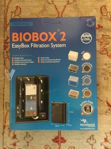 Filtro Acuario Interno Biobox 2 Completo. Nuevo.