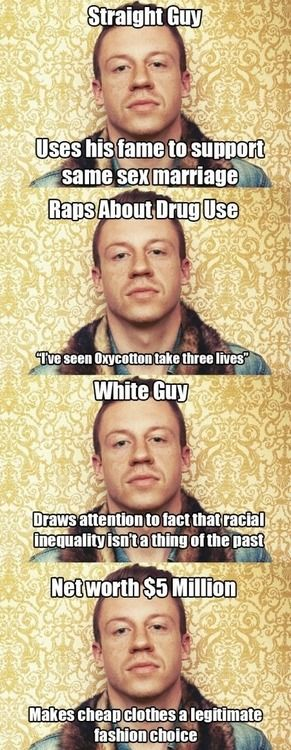 In an industry filled with self-important douche bags, Macklemore & Ryan Lewis are breaking the mold and bringing dignity back to the art.