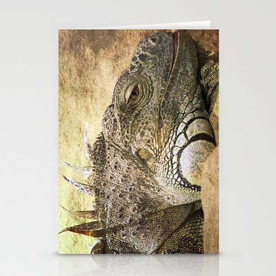 Leguan Stationery Cards by Fine2art - $12.00