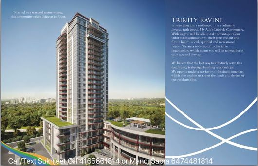 Presenting Affordable Trinity Ravine Towers on Markham road and 401.  * Exclu...