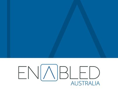 "Check out new work on my @Behance portfolio: ""Enabled Australia Logo Design"" http://be.net/gallery/47841683/Enabled-Australia-Logo-Design"