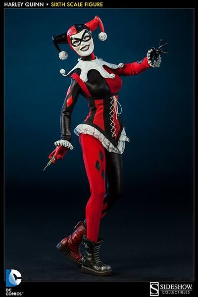 Harley Quinn Sixth Scale Figure - Sideshow Collectibles - SideshowCollectibles.com