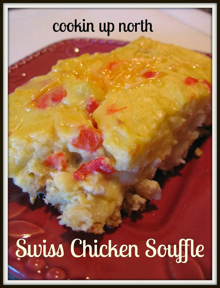 cookin' up north: Grandma's Swiss Chicken Souffle ...