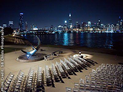 Adler Planetarium Chicago Illinois Wedding Venues 1