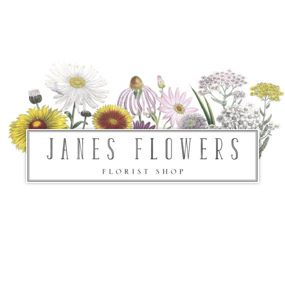Check out this item in my Etsy shop https://www.etsy.com/listing/235276164/premade-florist-logo-florist-logo-design