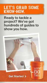 Home Depot offers FREE remodeling workshops every weekend, each looking at a different aspect of home improvement.